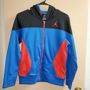 Boy's Jordan Zip Up Hoodie Jacket Large